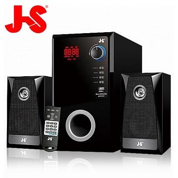 JS 淇譽電子 水瓶座 2.1聲道木質三件式FM音響/藍芽喇叭(JY3302)