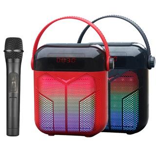 大聲公巧福型無線式多功能行動音箱/喇叭 (單手持麥克風組)