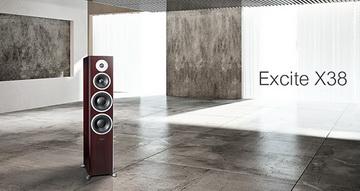 新實力中堅-Dynaudio Excite X38喇叭 玫瑰木
