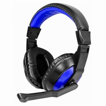 KINYO電腦用頭戴式耳麥EM-3653