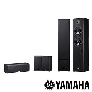 Yamaha 山葉 韓德爾 5聲道家庭劇院喇叭組 NS-F51+NS-P51