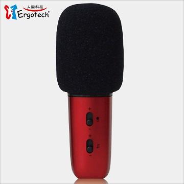 Ergotech人因科技 手機/平板KTV歡唱伴侶 行動K歌王2 KB100(歌王紅)
