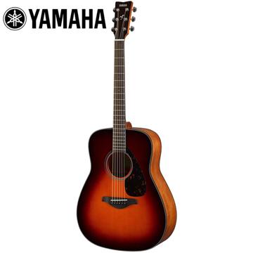 YAMAHA FG800 BS 民謠木吉他 深咖啡漸層色