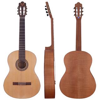 ★嚴選雲杉單板JYC GC-120NS古典吉他~送琴套/踏板!!限量(虎紋楓木側底板)