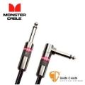 Monster CLAS-I-12A 一直頭一L頭 錄音室等級 樂器專用導線 12呎 (360公分)【電子樂器專用】