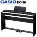 『CASIO 卡西歐』PX-160BK Privia數位鋼琴★含琴架、三腳踏、琴椅★贈耳機、琴罩、保養組★公司貨