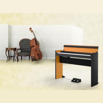 『KORG 數位鋼琴限量版73鍵 LP-380』日本原裝Digital Piano 橘黑款★贈耳機 / 公司貨保固