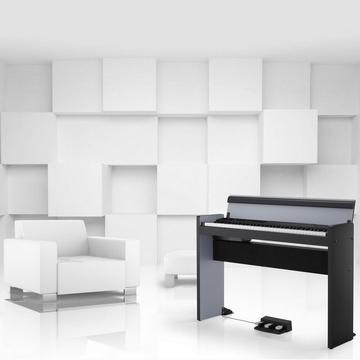 『KORG 數位鋼琴限量版73鍵 LP-380』日本原裝Digital Piano 銀黑款★贈耳機 / 公司貨保固
