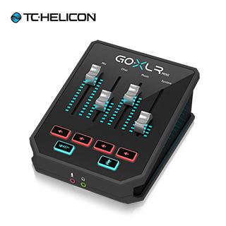 tc Helicon GO XLR Mini 直播電競混音人聲效果器