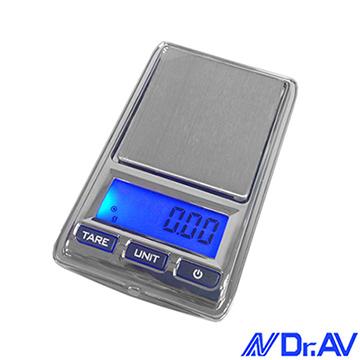 【Dr.AV】超迷你口袋型精密微量電子秤(PT-2001)