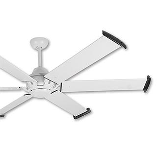 阿拉斯加 工業風吊扇MEGA 72吋(遙控)-白色