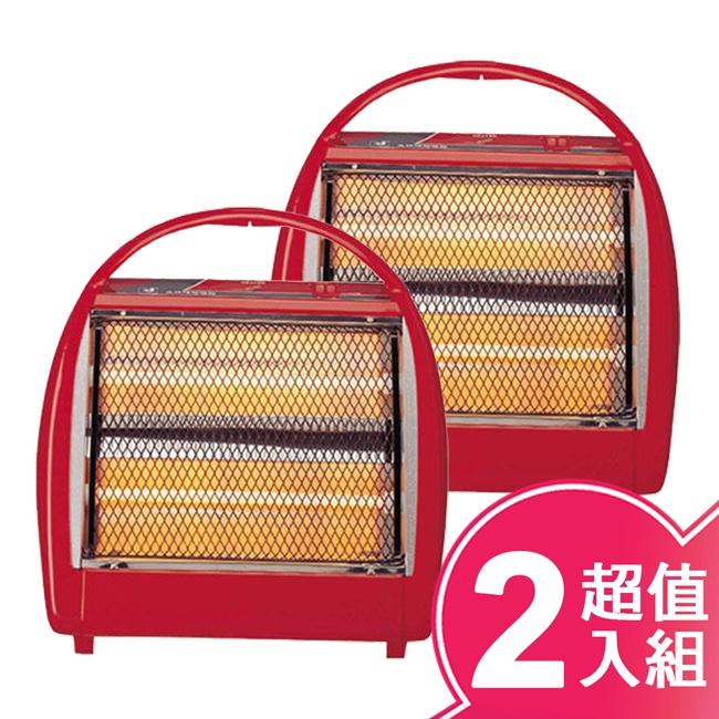 【良將】手提石英管電暖器 LJ-0330-兩入組
