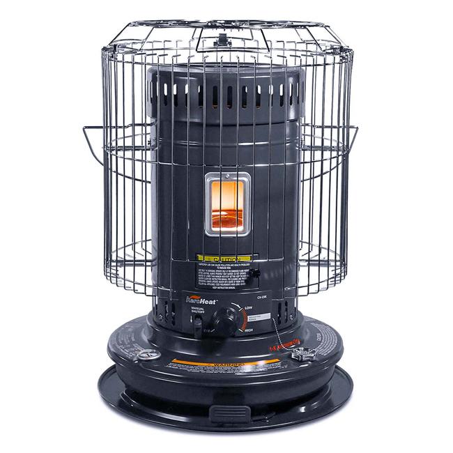 【日本千石SENGOKU】古典圓筒煤油暖爐(大功率歐美款) CV-23KH