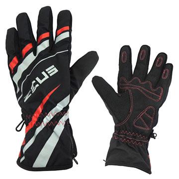 ZEUS 超透氣防水輕綿保暖手套L-紅色ZS-03