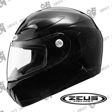 ZEUS 瑞獅ZS-807A 素色系列】內建墨片│內襯全可拆洗|全罩式安全帽|重機騎士愛用