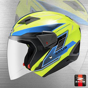 【ZEUS ZS-611E TT18】3/4罩安全帽│變形金剛│風洞散熱設計│可加裝下巴│內墨片設計│多帽款應用設計