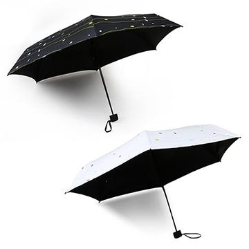 超輕遮陽兩用黑膠折疊傘(CS-UB01)