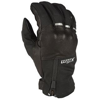 【美國KLIM】Vanguard GTX騎士GORE-TEX短手套 - 黑色