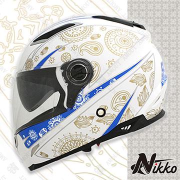 【Nikko N802#8】全罩│內襯全可拆│內置墨片│空氣風洞散熱設計│內置鼻罩│台灣製造