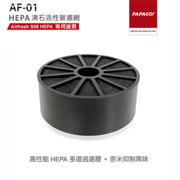 PAPAGO! Airfresh S08 HEPA 專用沸石活性碳濾網AF-01 HEPA