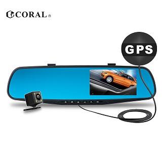 CORAL -- GPS測速預警雙鏡頭行車記錄器