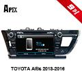 APEX TOYOTA ALTIS 2013~2016 手機連動版藍芽導航電容式觸控汽車音響