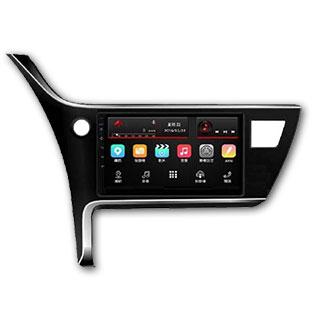 TOYOTA ALTIS 2017年式10.1吋汽車音響專用主機  /AUX/藍芽/ 搭配正版PAPAGO S1導航系統-展示機