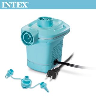 INTEX 110V家用電動充氣幫浦-水藍色(58639)