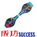 SUCCESS 發光輪蛇板(藍)