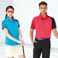 【Londa Polo】吸濕排汗女版短袖POLO衫(P41413)土耳其藍色