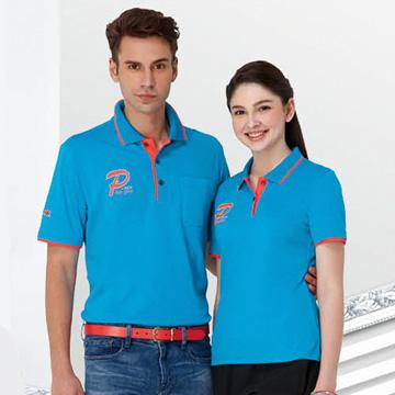 【Londa Polo】吸濕排汗女版短袖POLO衫(P41962)土耳其藍色