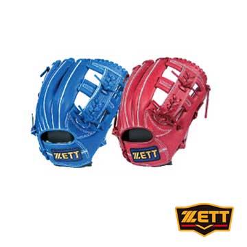 ZETT 8900系列棒壘手套 野手通用 BPGT-8915