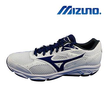 MIZUNO 美津濃 WAVE SPARK3 男慢跑鞋 K1GA180317JP26白藍