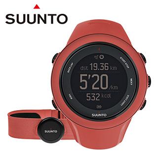 SUUNTO Ambit3 Sport Coral HR進階多項目運動GPS腕錶【珊瑚紅】