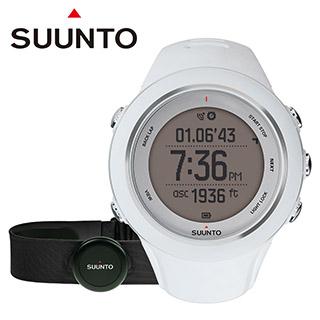 芬蘭 SUUNTO Ambit3 Sport White HR進階多項目運動GPS腕錶【白色】