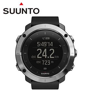 SUUNTO Traverse Black 健行、徒步、登山越野及運動鍛鍊GPS腕錶【黑色】