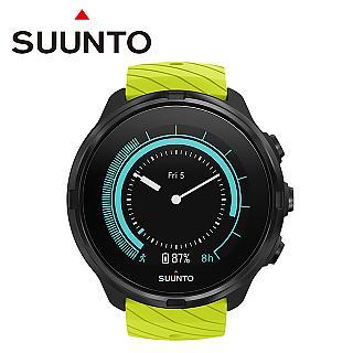 SUUNTO 9 Lime 堅固強勁,超長電池續航力的多項目運動GPS腕錶 (萊姆綠)