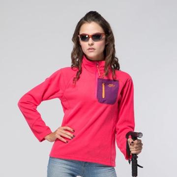 【日本SASAKI】OUTDOOR(女款)超輕量立領保暖拉鏈長衫