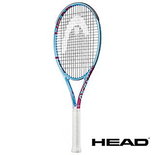 HEAD Attitude Elite 鋁合金材質入門款網球拍-天藍 265g 【232029】