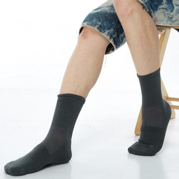 【KEROPPA】可諾帕寬口萊卡運動襪x3雙C98002深灰