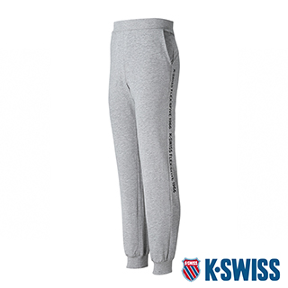 K-SWISS Flex-5Five Sweat Pants棉質運動長褲-男-灰