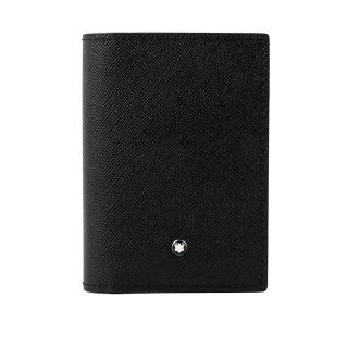 MONTBLANC  匠心系列4卡名片/卡片夾(黑色)