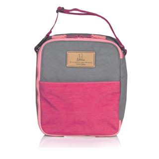 TWELVElittle COURAGE 美國超輕量防潑水保冷袋 保溫袋 保鮮袋 餐盒袋 便當袋 (果粉灰)