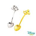 Disney迪士尼系列金飾 黃金/純銀湯匙木盒套組A-米奇+美妮款