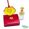 Disney迪士尼系列金飾 彌月金飾印章套組木盒-吉祥美妮款 0.15錢