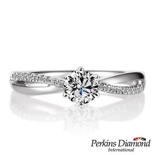 GIA 鑽石戒指 PERKINS 伯金仕 夏綠蒂系列