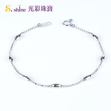 【光彩珠寶】日本鉑金手鍊 精靈話語