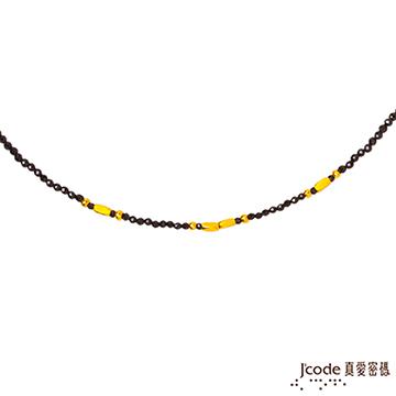 J'code真愛密碼 獨特黃金/尖晶石項鍊