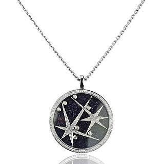 晉佳珠寶 Gemdealler Jewellery 閃爍星辰鑽石項鍊