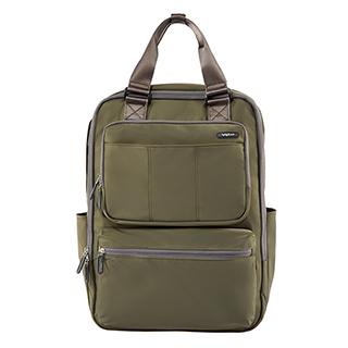 VoyLux伯勒仕-VAPOR系列-細丹尼輕量四方背包-3680513-軍綠色